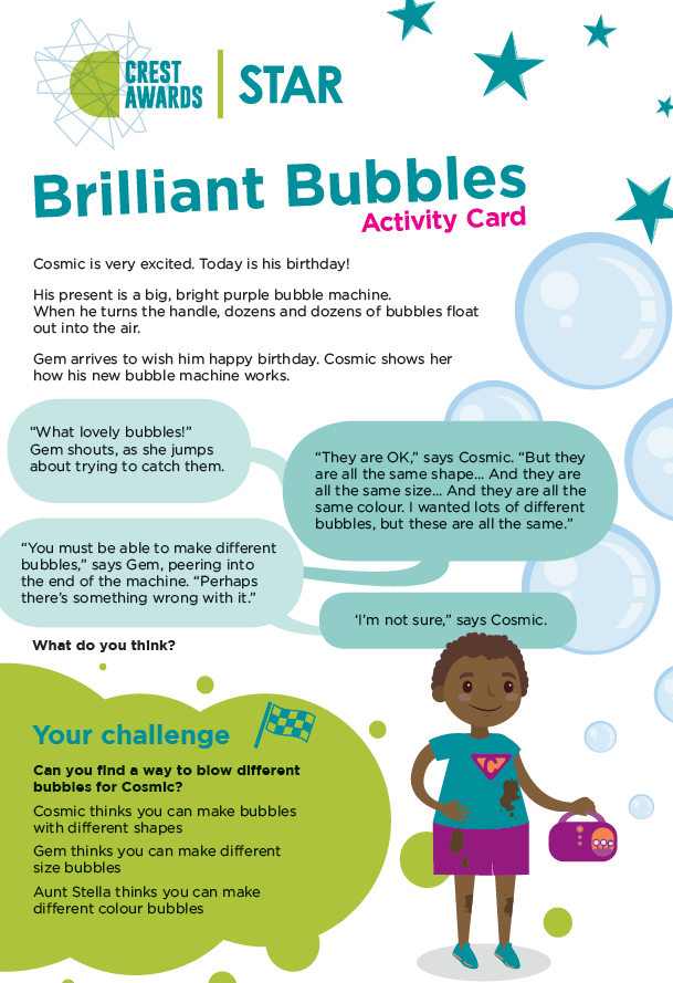 CREST Activity: Brilliant Bubbles