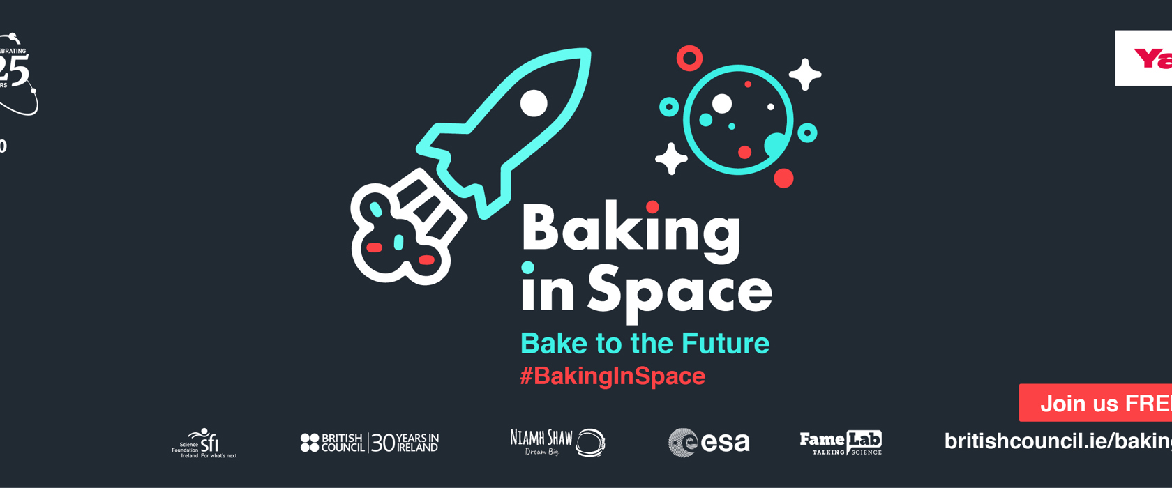'Baking In Space': In conversation with Andrew Smyth and Dr Niamh Shaw